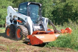 Forestry / Land Clearing Brushcat, Flail Cutter and Brush Saw Photo Shoot at J. Odegaards.